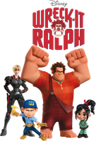 Wreck-It Ralph by Xelku9