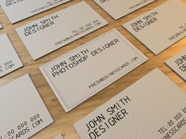 Photoshop Business Card by Freshbusinesscards