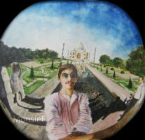 George Harrison - Taj Mahal by MonsieF