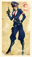 World War II Baroness by El-Mono-Cromatico