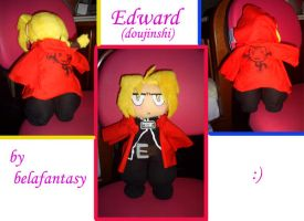 eddie full metal plushie by belafantasy