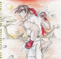 Ryu from Street Fighter by cirgy