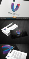 RW Visionairz Creative  Corporate Identity by Reclameworks