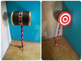 Harley Quinn hammer Finished by Blueloth