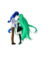 Request - Vocaloid - Kaito x Miku by chrissybob777