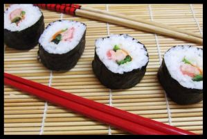 Nori-Rolled Sushi by SushiLoversClub