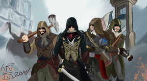 Assassin's Creed Unity: The Team by WrekinMoney