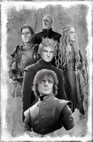 The Lannisters by valdescristian