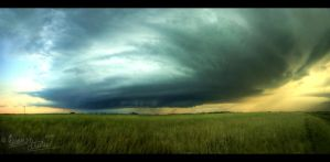 Supercell Panorama IV by FramedByNature