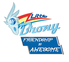 My Little Brony Show Test Logo by philsterman