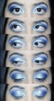 Make-Up Look: Winter Frost. by Psychosomatic-Psyche