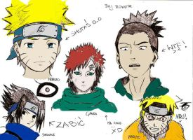 Naruto Boys 1 by Rowereq