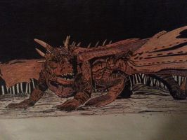 Draco from Dragonheart by ladyjart
