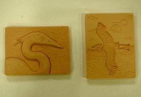 Heron Reliefs by LIV4TheObsession