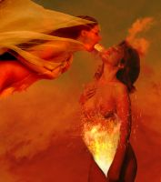 Burning Breath of Desire by ChrissieCool