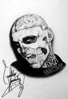 Rick Genest- Profile 11 by GeeFreak