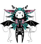 Monster pet doll adoptable OPEN by AS-Adoptables