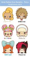 Harajuku Lovers icons by analage