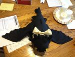 Large Toothless Plushy Full View by MissCreatureCreator