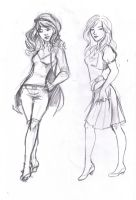 Alphena Commission roughs by Ratgirlstudios