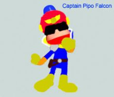 Captain Falcon is a monkey. by PipoMadness1992