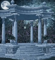 Premade Background Gazebo 4 by VIRGOLINEDANCER1