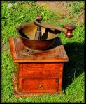 Old coffee grinder... by Yancis