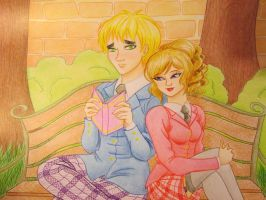 [Traditional] UK x NyoFrance by Xx-Mygale-xX