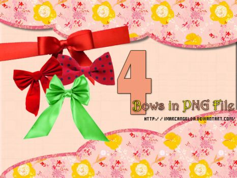 Bows PNG by ImArcangelDA