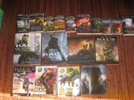 Halo Book Collection Mk II by Brutechieftan