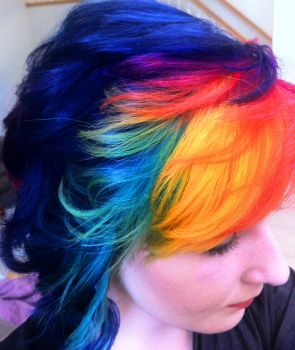 Colorful hair 2 by lane-nee-chan