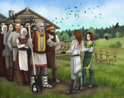 The peasants by Domerk