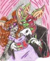 Gremlins of the Opera by squid1girl