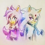 PC: Kuroi and Neo Sketch by NeJolly