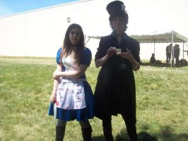 Alice and a Mad Hatter 1 by VampireQueenEffeffia