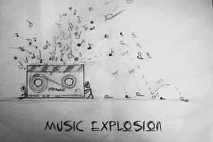 Music explosion by codexcs