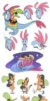 WOY: Color Sketches by FennecSilvestre