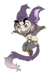 COMM:Tiniest Pirate by Neon-Pyscho-Reborn