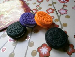 Oreo Polymer clays by dsam4