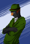 Belfry Penguin commission by Hot-Gothics