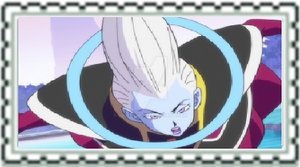 Dragonball series: Whis/Wiss Fan Stamp by Halowing