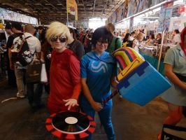 Dave Godtier and John Godtier at Japan Expo 2013 by Yukikow