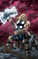 Ultimate Thor by MarcBourcier