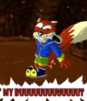 Conkers Bad Fur Day MY BUUUUUT by Natty354