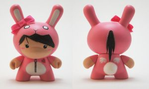 "Bunny Suit Girl ""V"" Dunny by xf4LL3n"