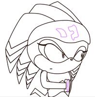 :wip: shade sonic x again XD by deathsbell