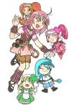 Magick Hearts- Amu and Co. by WingsofMorphius