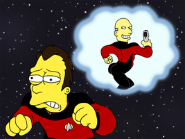 Stupid Sexy Picard by GlamourKat