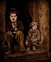 Charlie Chaplin - The Kid by Nestorladouce