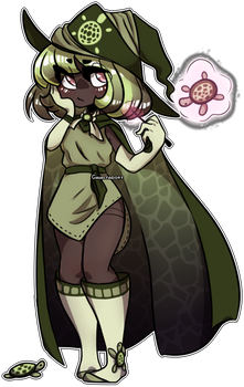Turtle Witch ClOSED by Galactadopt